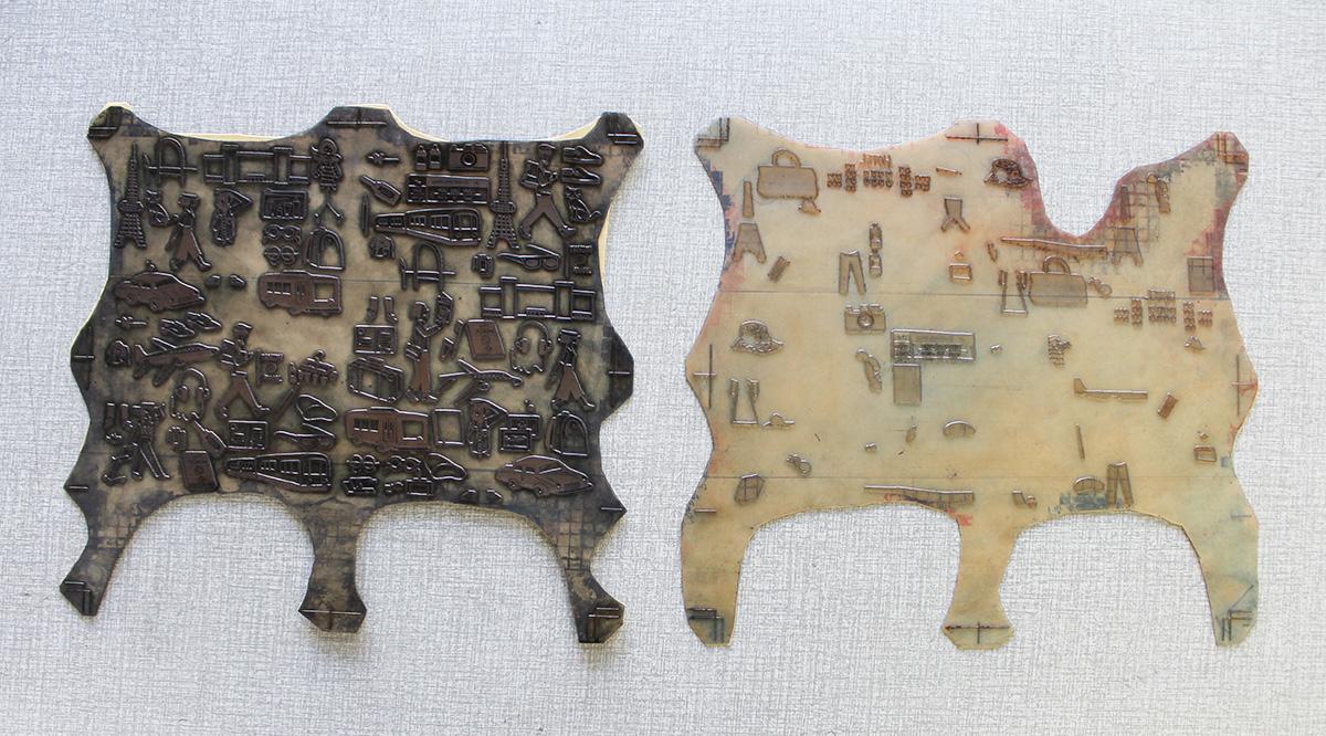 レターセット樹脂板