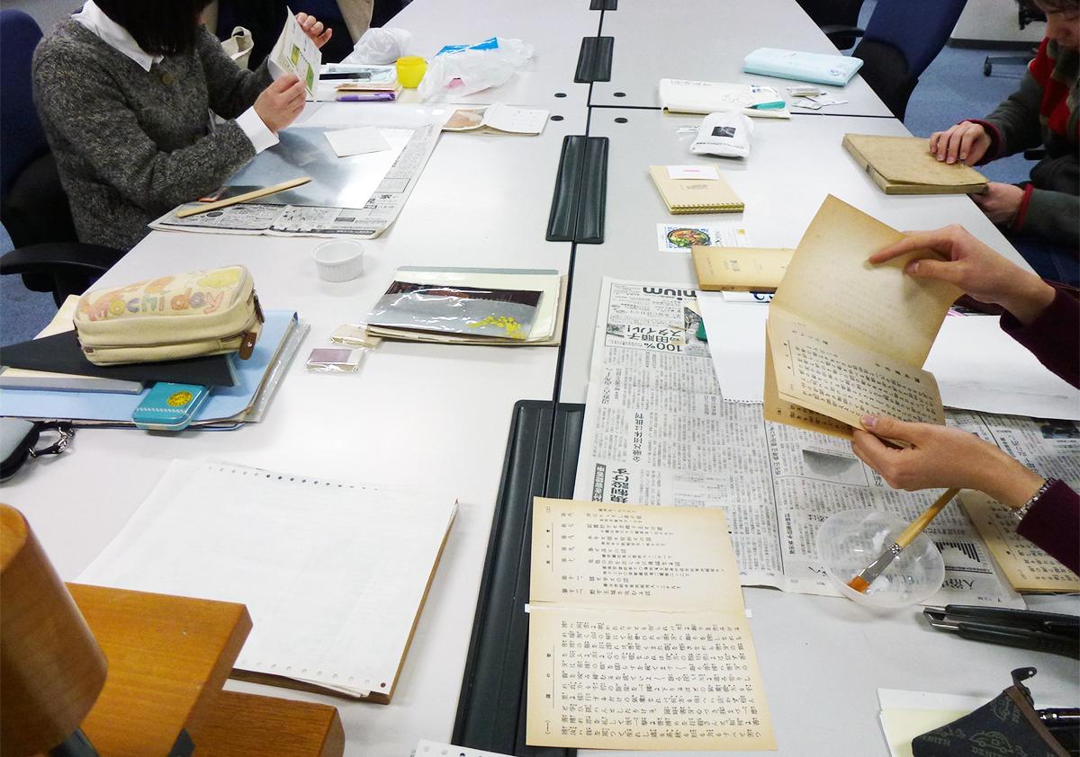 [図書館に修復室をツクろう!]自分たちで治したい!図書館員による図書館の蔵書の修理・修復
