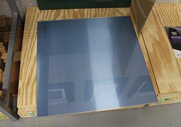 「FR亜鉛版」。サイズは500×500mm。