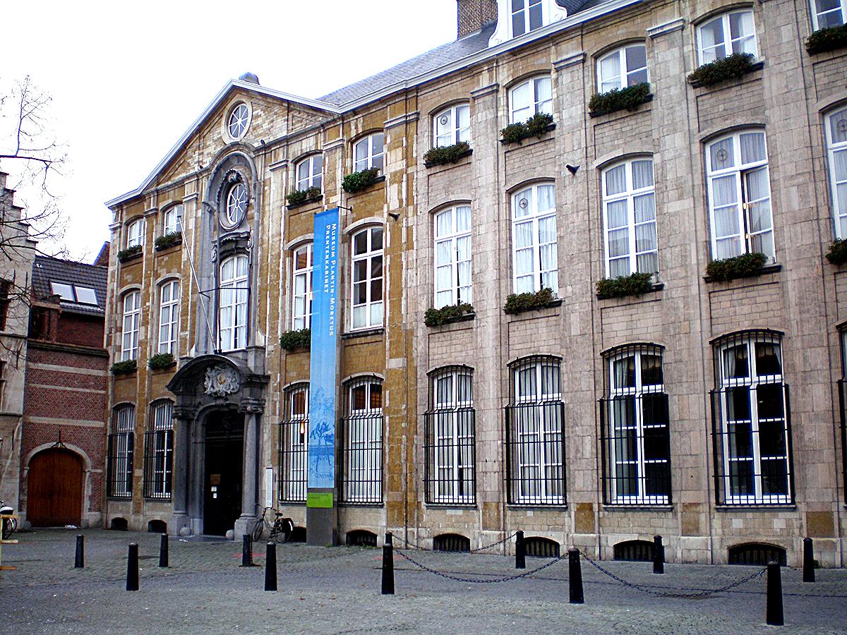 プランタン=モレトゥス印刷博物館。(Antwerpen Museum Plantin Moretus) Antwerpen Museum Plantin Moretus