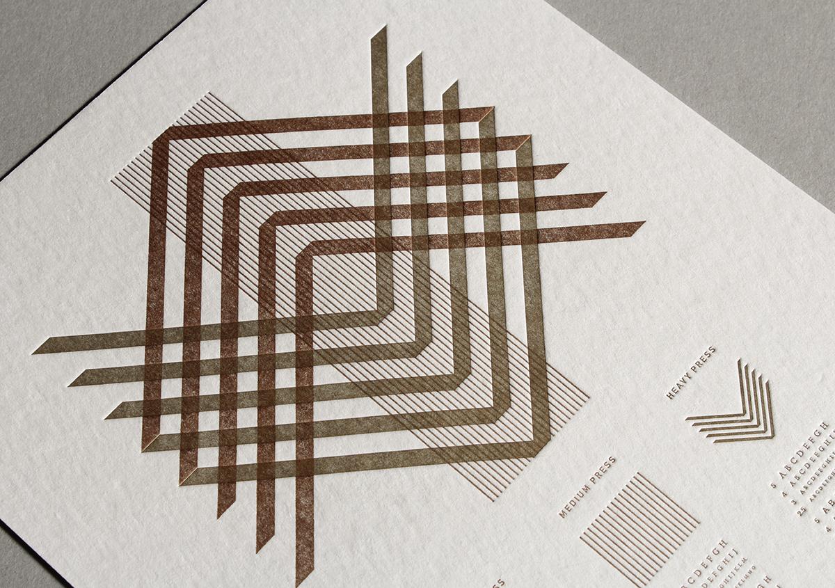 活版印刷の魅力─印圧による凹凸表現の秘密に迫る