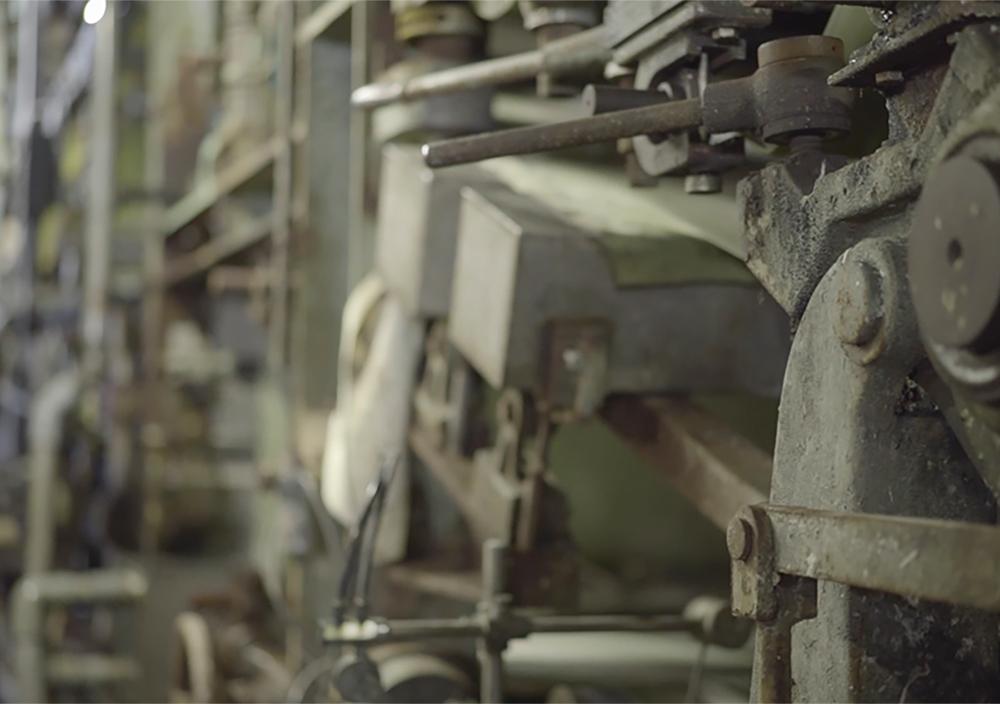 機械抄きの機械 - 和紙見本帳を見て、「どれが和紙?」と尋ねた新人時代
