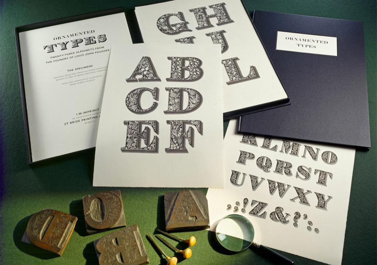 世界で最も美しい木製活字フォント