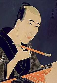 山東京伝像 | 江戸のベストセラー作家・山東京伝の活躍。『黄表紙』 - 森カズオ | 活版印刷研究所