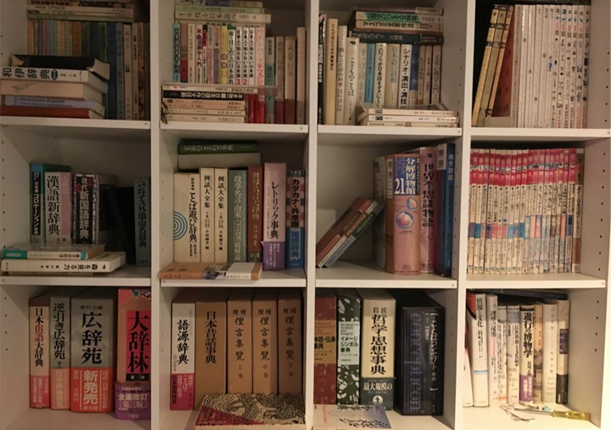 文字のある風景⑥『本棚』~背中で語る書物たち~