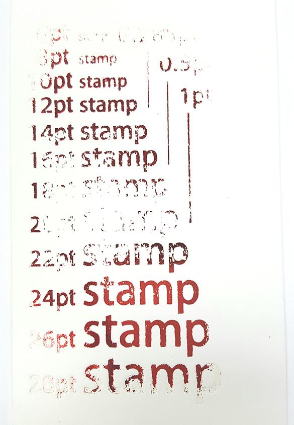 (写真3) | 活(い)きた版 「箔押しその5」 - (株)和光 | 活版印刷研究所