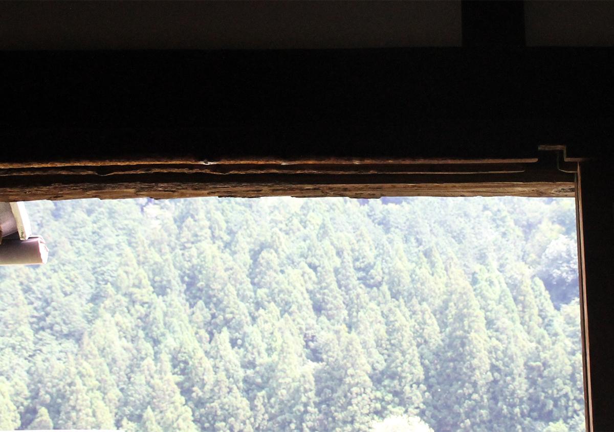 干し板の跡が残る | 干し板のお話 - 紙ノ余白 | 活版印刷研究所