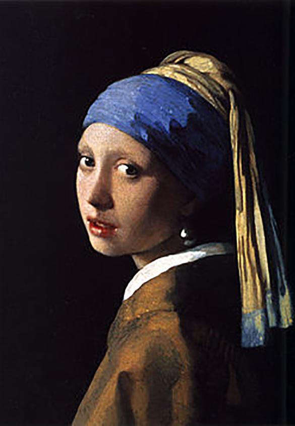 『真珠の耳飾りの少女』 | 顔料について - 三星インキ株式会社 | 活版印刷研究所