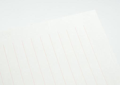 なめらか・・・伊予和紙。 | offというブランドにおける活版印刷と和紙③ - 株式会社 オオウエ | 活版印刷研究所