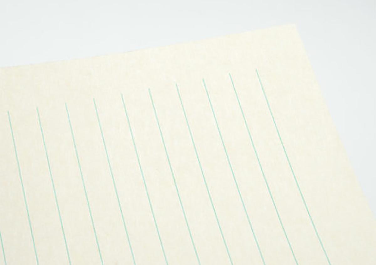 しっかり・・・美濃和紙。 | offというブランドにおける活版印刷と和紙③ - 株式会社 オオウエ | 活版印刷研究所