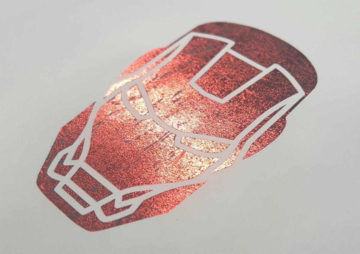 (写真6) | 活(い)きた版 「箔押し?その9」 - (株)和光 | 活版印刷研究所