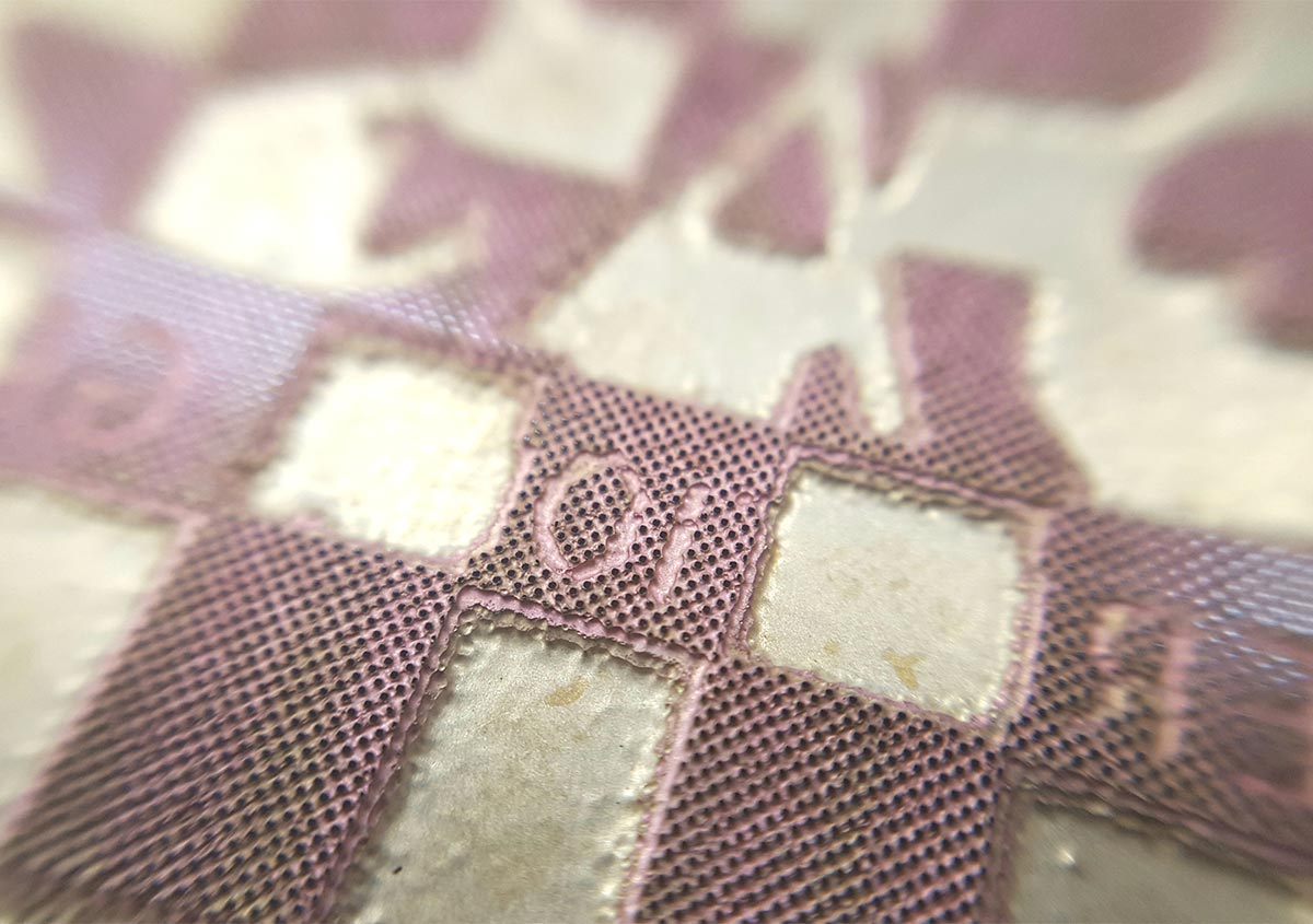 (写真4) | 活(い)きた版 「デボスとエンボス」 - (株)和光 | 活版印刷研究所