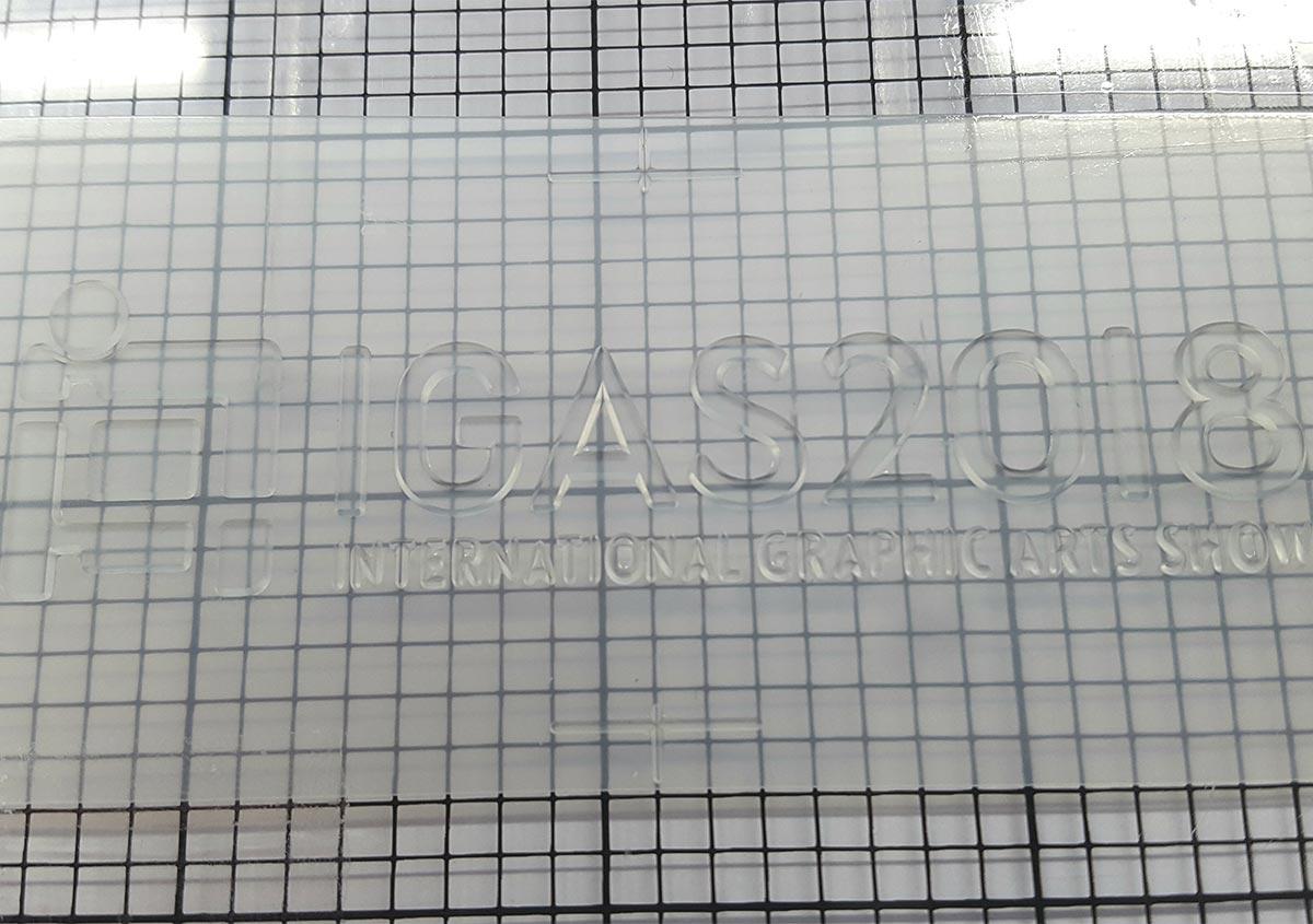 (写真5) | 活(い)きた版 「デボスとエンボス」 - (株)和光 | 活版印刷研究所