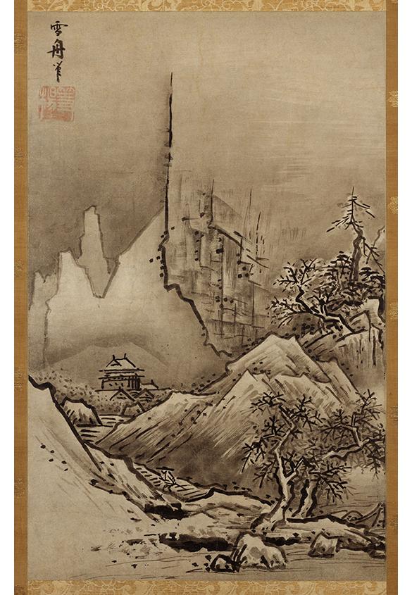 雪舟筆 秋冬山水図のうち冬景 | 色がもたらす影響や意味合い「 白 」 - 三星インキ株式会社 | 活版印刷研究所