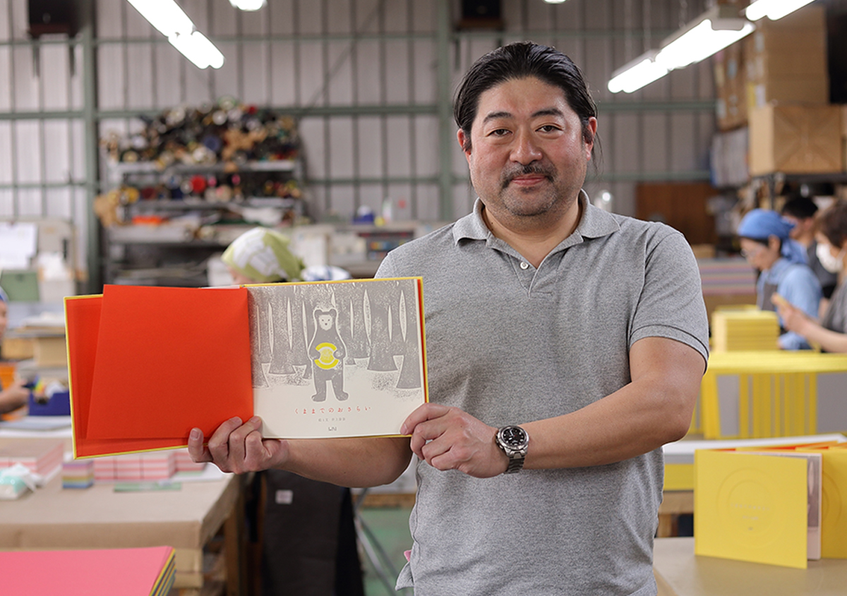 (写真48)中野活版印刷店 中野好雄さん。 | 『くままでのおさらい 特装版』が「 世界で最も美しい本コンクール 」銀賞を受賞 - 生田信一(ファー・インク) | 活版印刷研究所