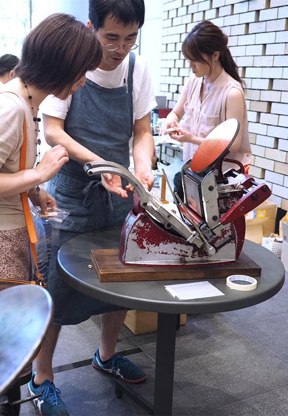 (写真2) | 「 活版TOKYO 2018 」開催のお知らせ - TOPICS | 活版印刷研究所