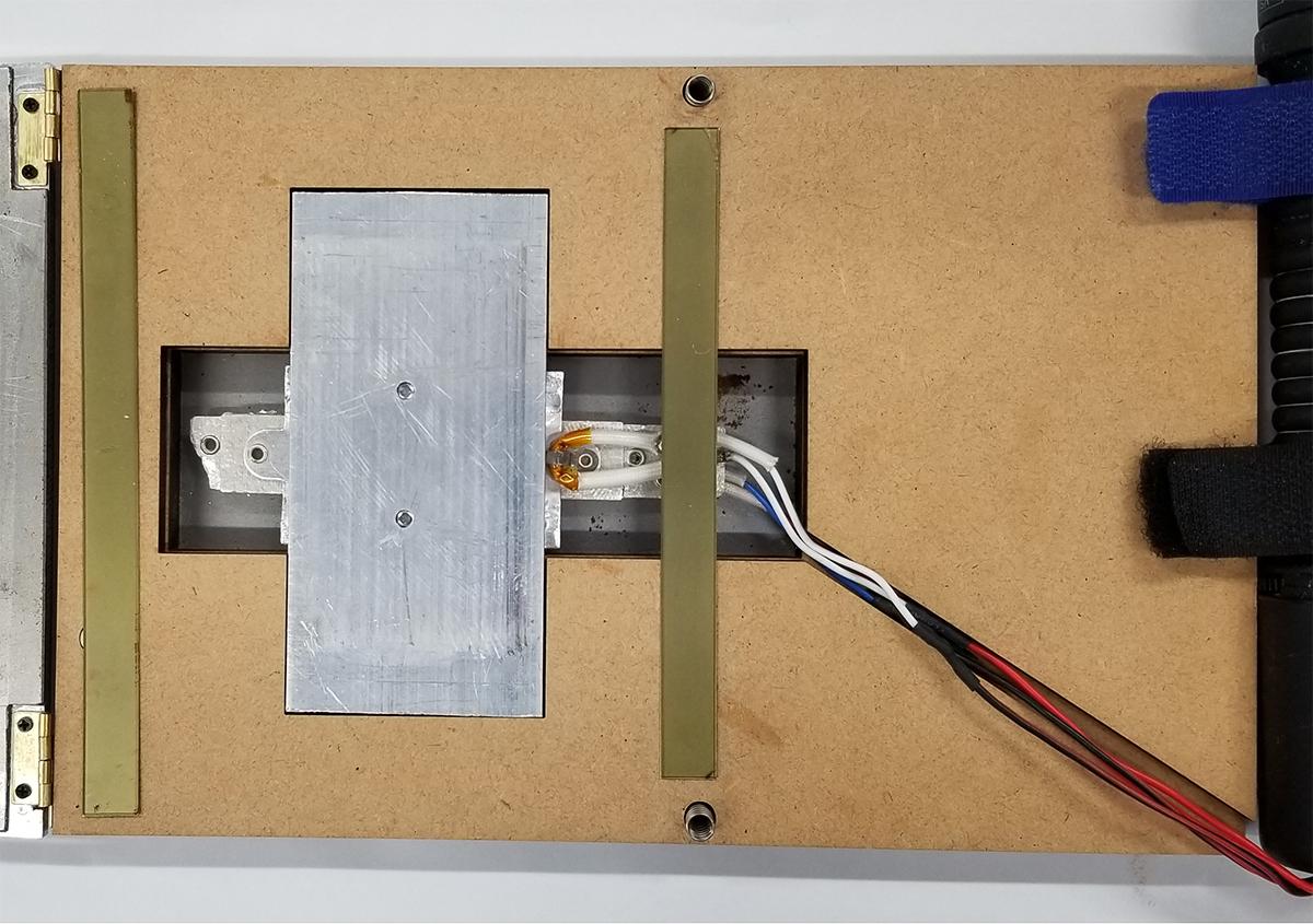 (写真3) | 活(い)きた版 「 箔押し その10 」 - (株)和光 | 活版印刷研究所