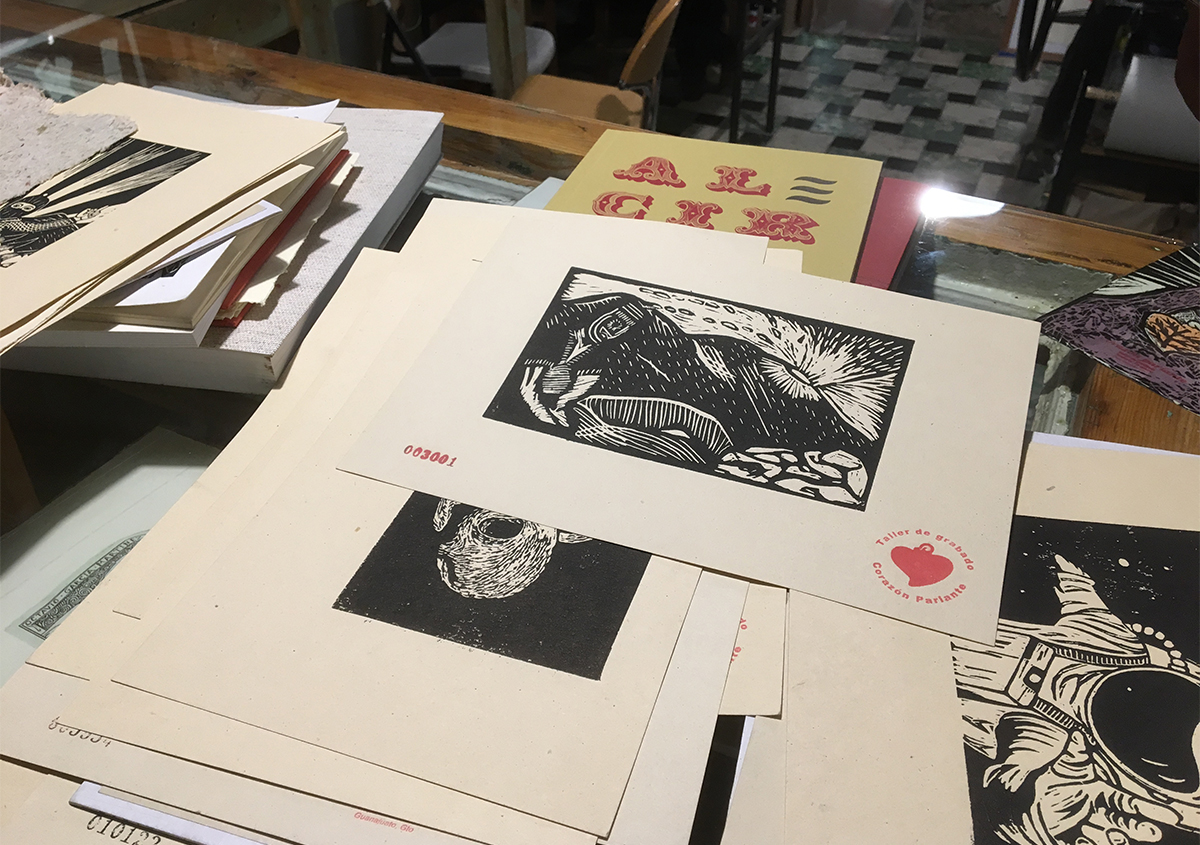 (写真10) | 活版印刷チラシ を始めた工房 - アミリョウコ | 活版印刷研究所