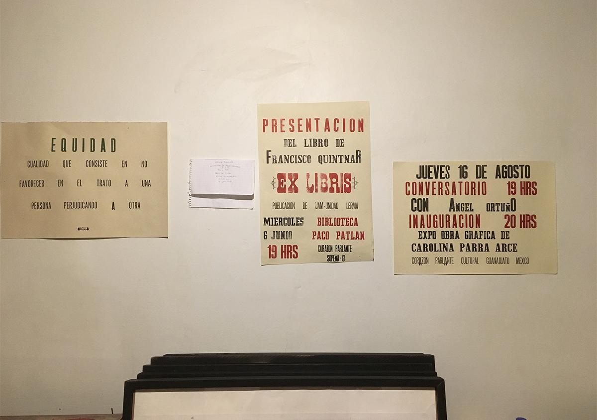 (写真8) | 活版印刷チラシ を始めた工房 - アミリョウコ | 活版印刷研究所