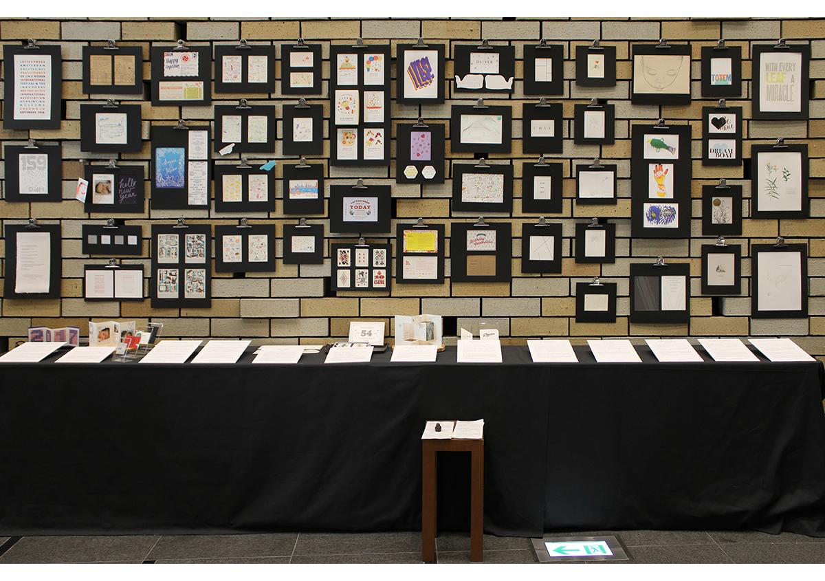 (写真1)テラススクエア1階の「世界の活版展」の展示。 | 「 活版TOKYO2018 」に行ってきました〈前編〉 - 生田信一(ファー・インク) | 活版印刷研究所
