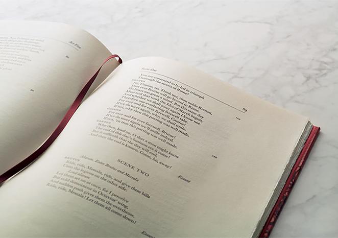本文の組版様式 | Folio Society 出版社 - Miki Wang | 活版印刷研究所