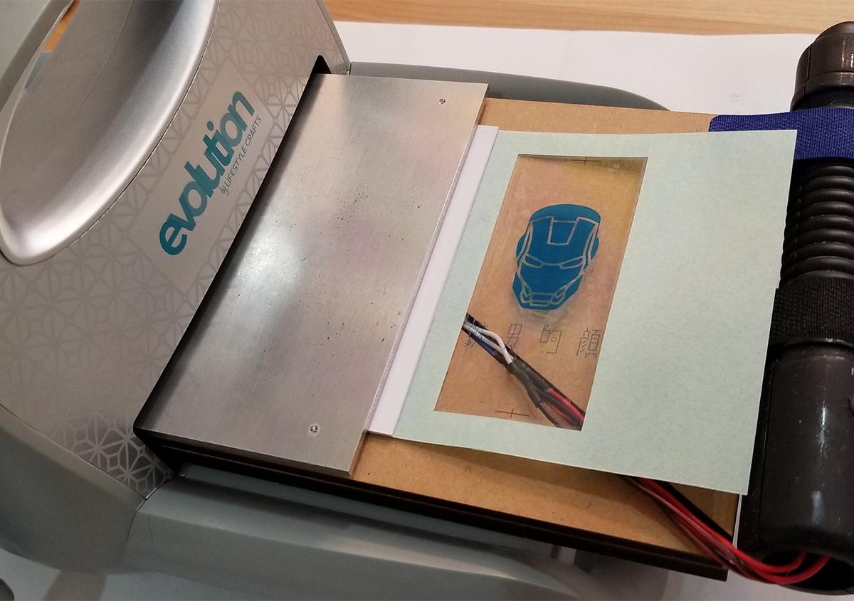 (写真8) | 活(い)きた版 「 箔押し その11 」 - (株)和光 | 活版印刷研究所