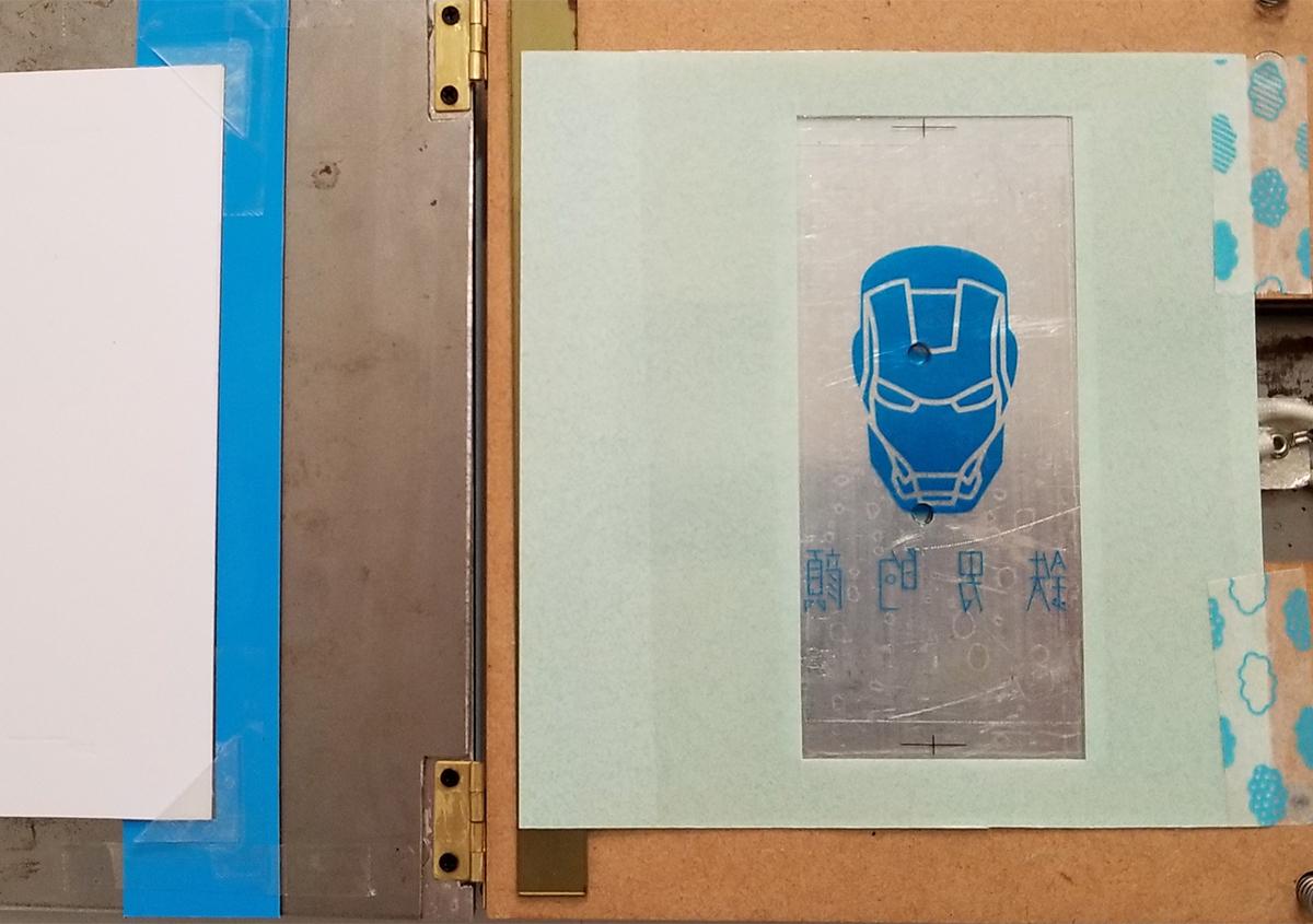 (写真6) | 活(い)きた版 「 箔押し その11 」 - (株)和光 | 活版印刷研究所