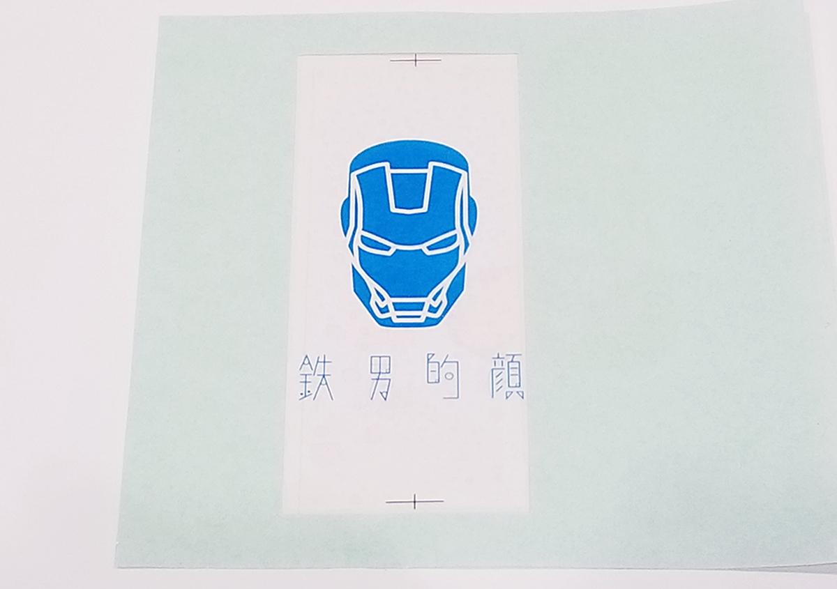 (写真3) | 活(い)きた版 「 箔押し その11 」 - (株)和光 | 活版印刷研究所