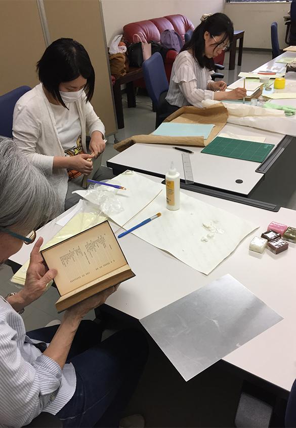 最近の ワークショップ - 京都大学図書館資料保存ワークショップ | 活版印刷研究所