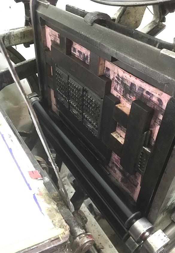 写真4 | 日本語の活字をオアハカで印刷する プロジェクト② - アミリョウコ | 活版印刷研究所