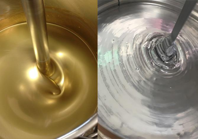 1液型金・銀インキ | 色がもたらす影響や意味合い「 金と銀 」 - 三星インキ株式会社 | 活版印刷研究所