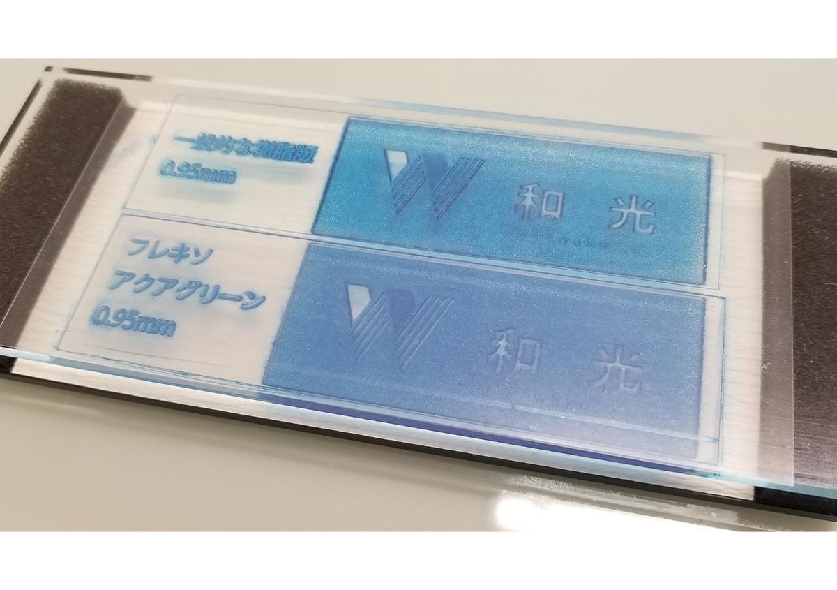 (写真7)プラットフォームにセット | 活(い)きた版 「 凹凸紙への印刷 」 - (株)和光 | 活版印刷研究所