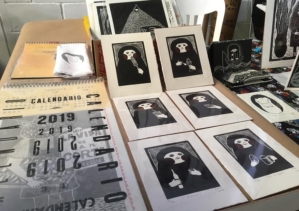 写真7 | オアハカフェリアグラフィカ - アミリョウコ | 活版印刷研究所
