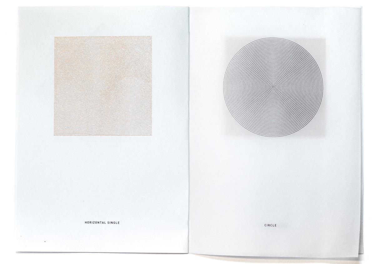 (写真10)線で円や四角の面を表現する。 | 活版印刷の技術で、複製できない価値を生み出す - 生田信一(ファーインク) | 活版印刷研究所