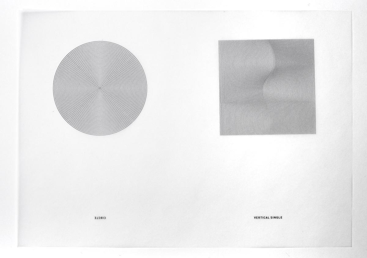 (写真11)線で円や四角の面を表現する。 | 活版印刷の技術で、複製できない価値を生み出す - 生田信一(ファーインク) | 活版印刷研究所