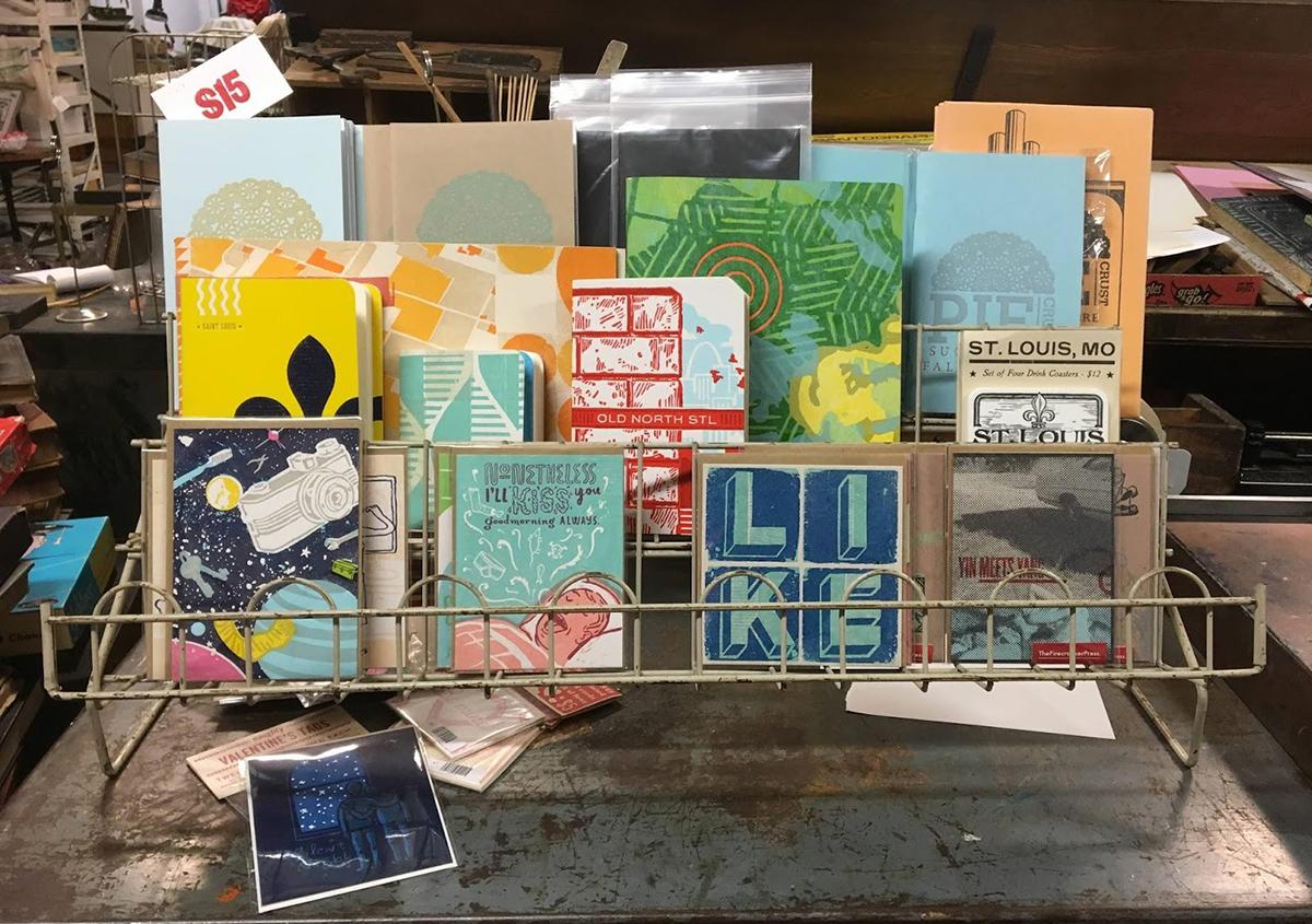 写真11 | セントラルプリント(アメリカ、セントルイス市) - アミリョウコ | 活版印刷研究所
