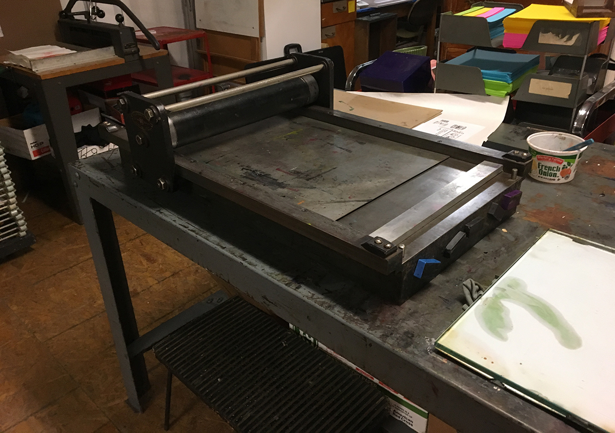 写真3 | セントラルプリント(アメリカ、セントルイス市) - アミリョウコ | 活版印刷研究所