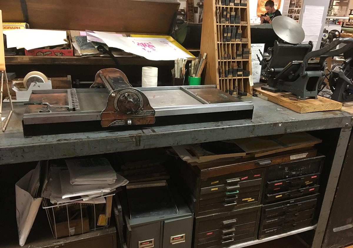 写真4 | セントラルプリント(アメリカ、セントルイス市) - アミリョウコ | 活版印刷研究所