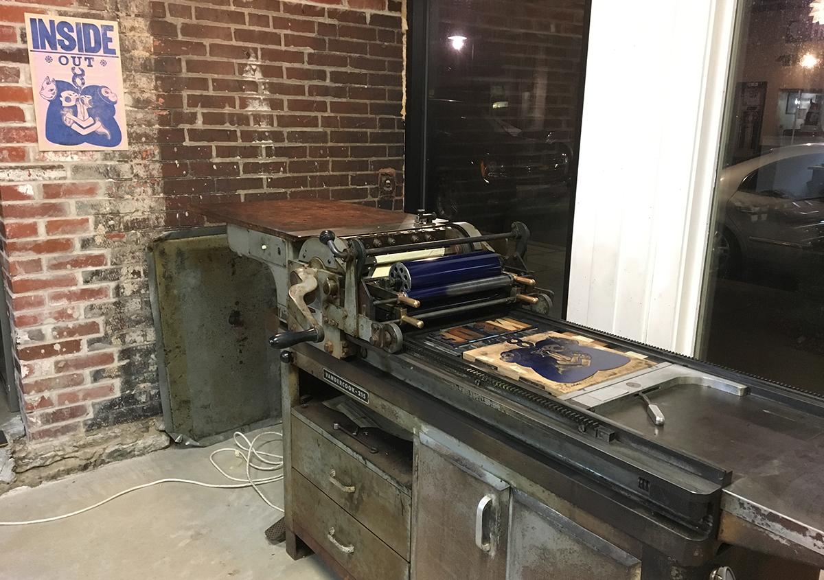 写真6 | セントラルプリント(アメリカ、セントルイス市) - アミリョウコ | 活版印刷研究所