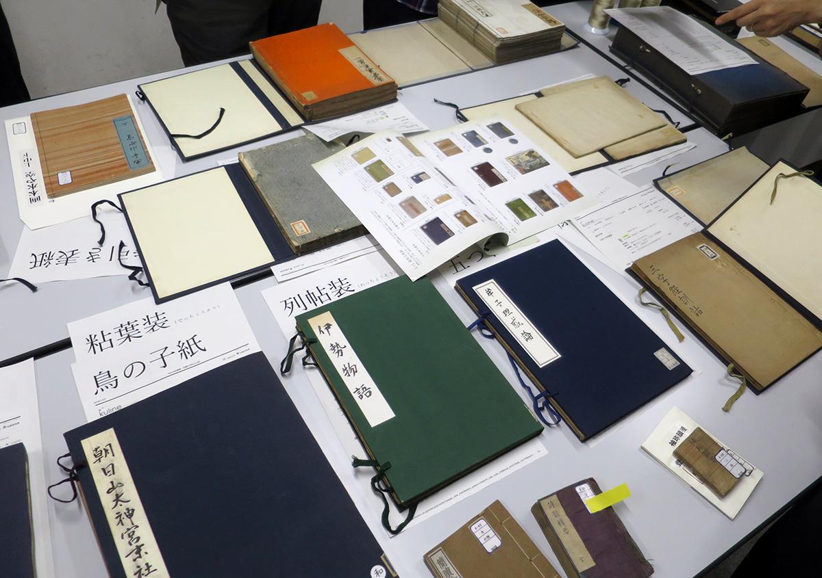 日本古典籍講習会の報告会