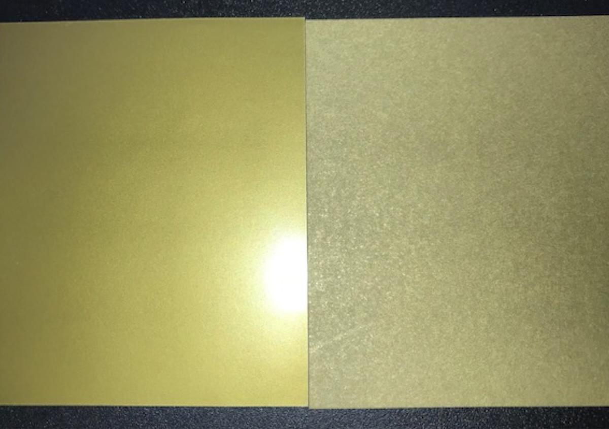 金インキの上手な印刷方法