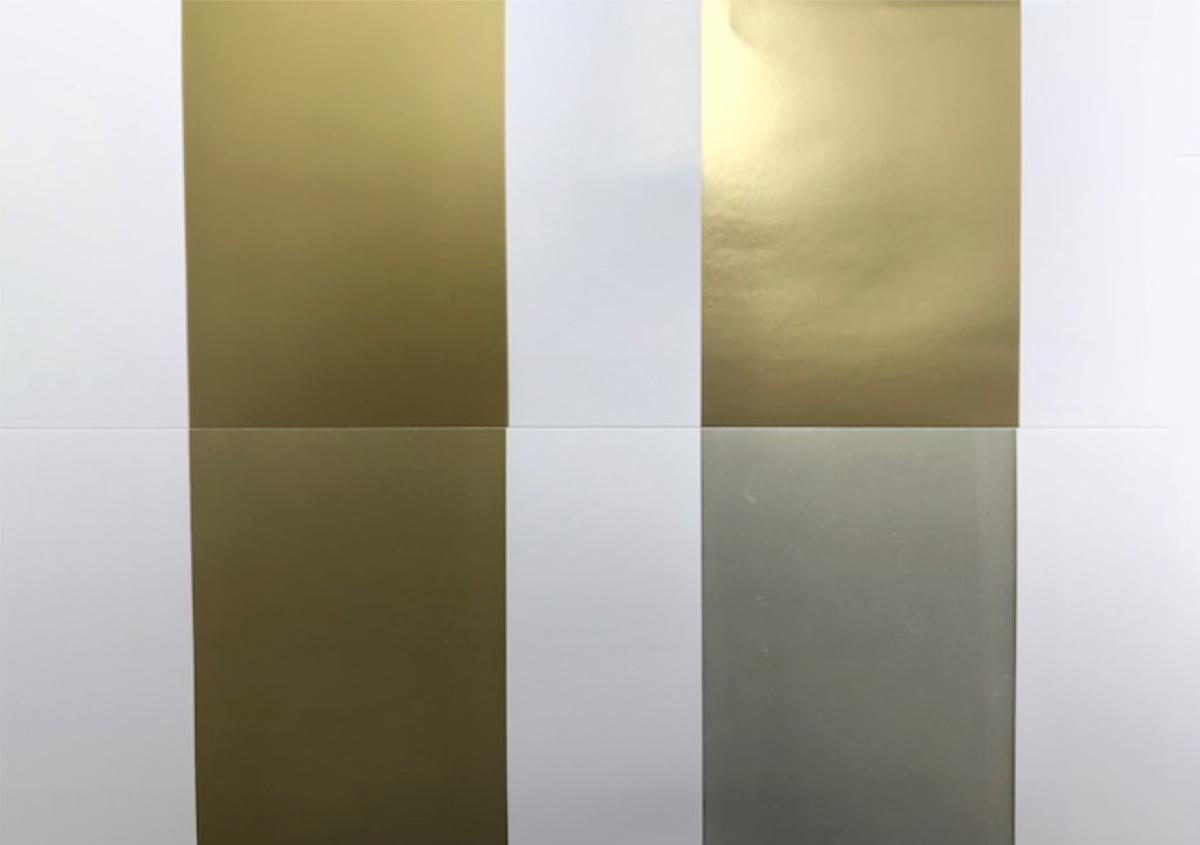 (写真2) | 金インキの上手な印刷方法 - 三星インキ株式会社 | 活版印刷研究所