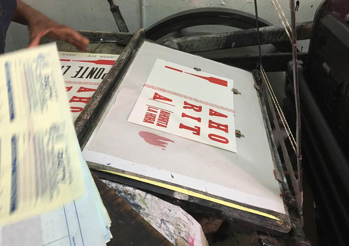 写真4 | ノートをいちから作ること。 - アミリョウコ | 活版印刷研究所