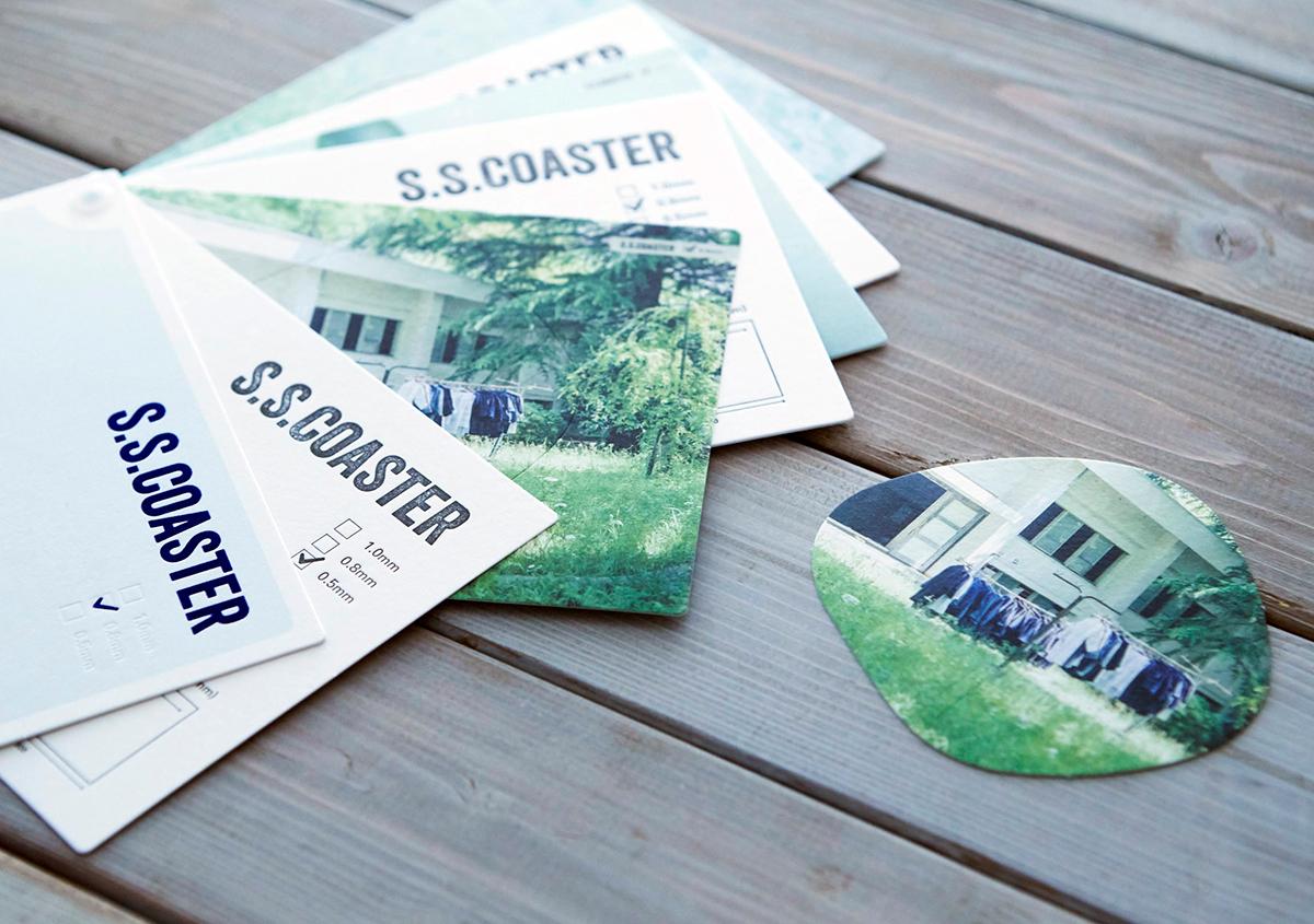 SSコースター | 機能のある紙(その4) - 平和紙業株式会社 | 活版印刷研究所