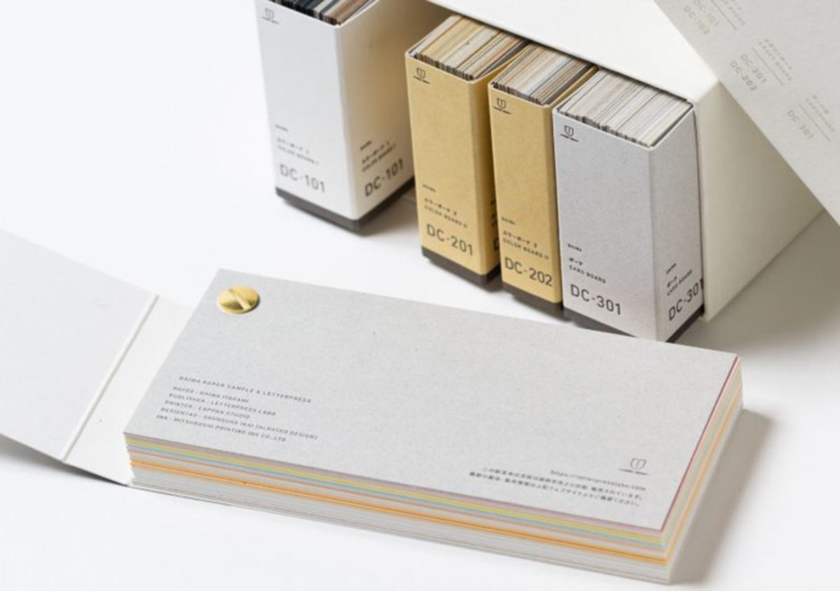 (写真27) | 大和板紙 東京営業所 ショールームが開設されました - 生田信一(ファーインク) | 活版印刷研究所
