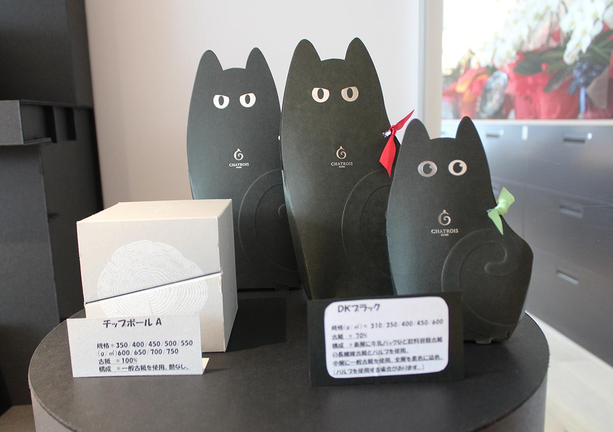 (写真7) | 大和板紙 東京営業所 ショールームが開設されました - 生田信一(ファーインク) | 活版印刷研究所