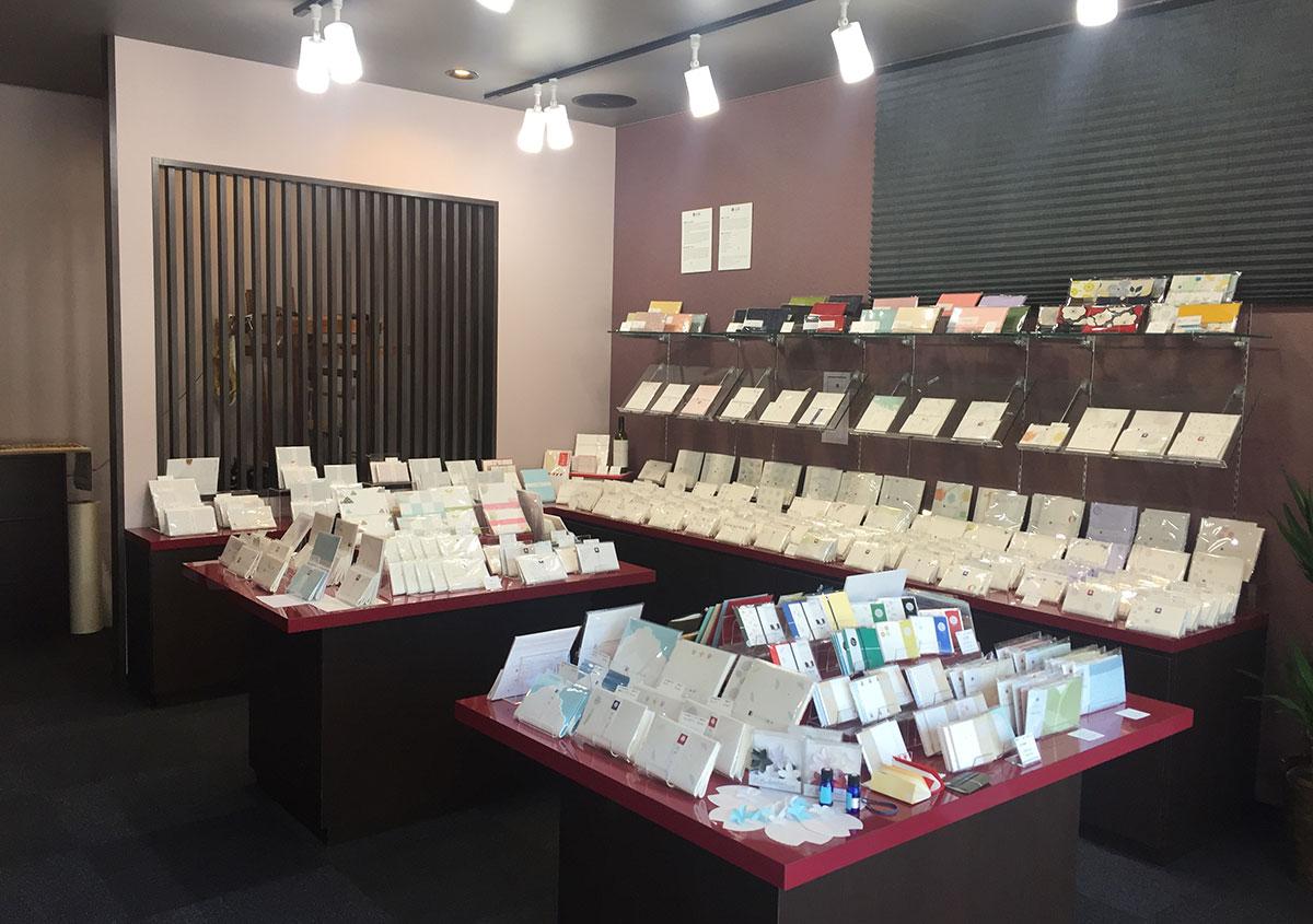 写真2 | 専門店で懐紙の奥深さに触れる 京都 辻徳 - 白須美紀 | 活版印刷研究所