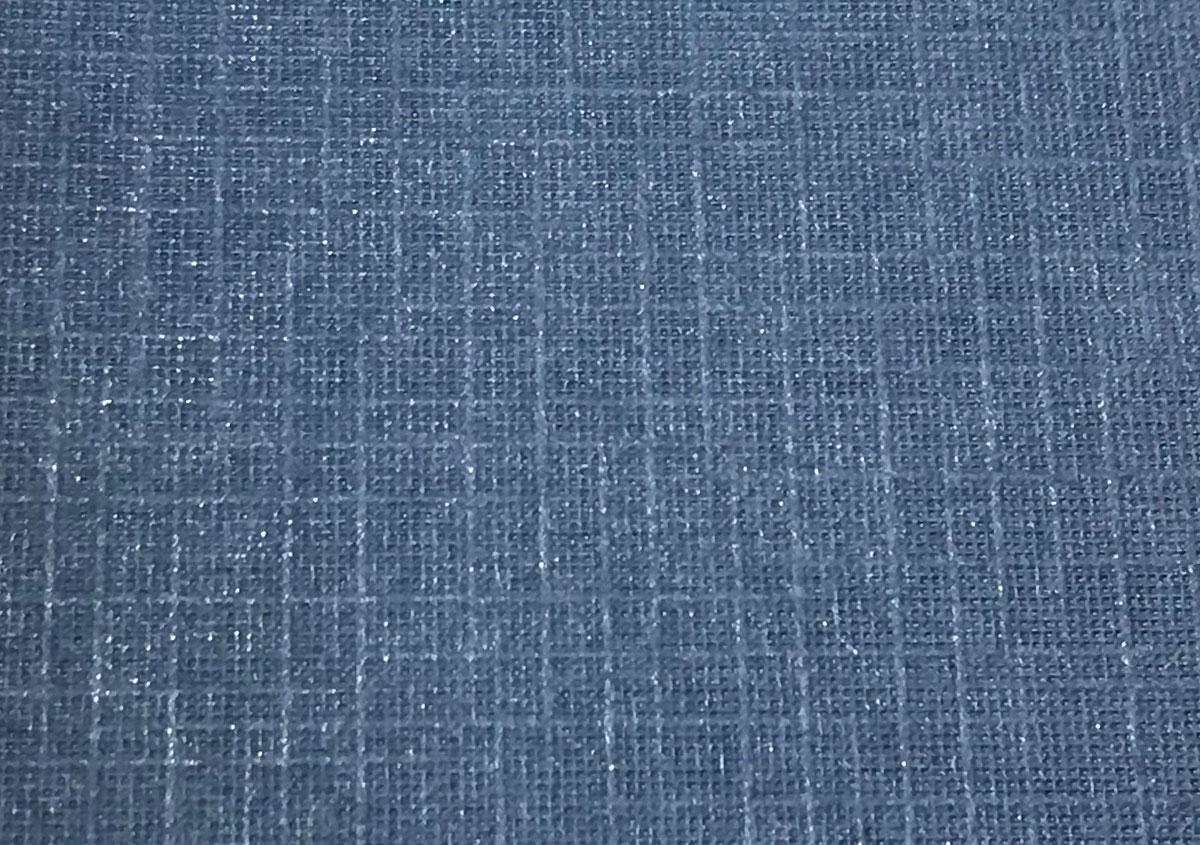 (写真19)民芸紙 群青〈40g〉格子 | 紙に質感や模様を与えるプレス加工──池ヶ谷紙工所さんの話を聞きました - 生田信一(ファーインク) | 活版印刷研究所
