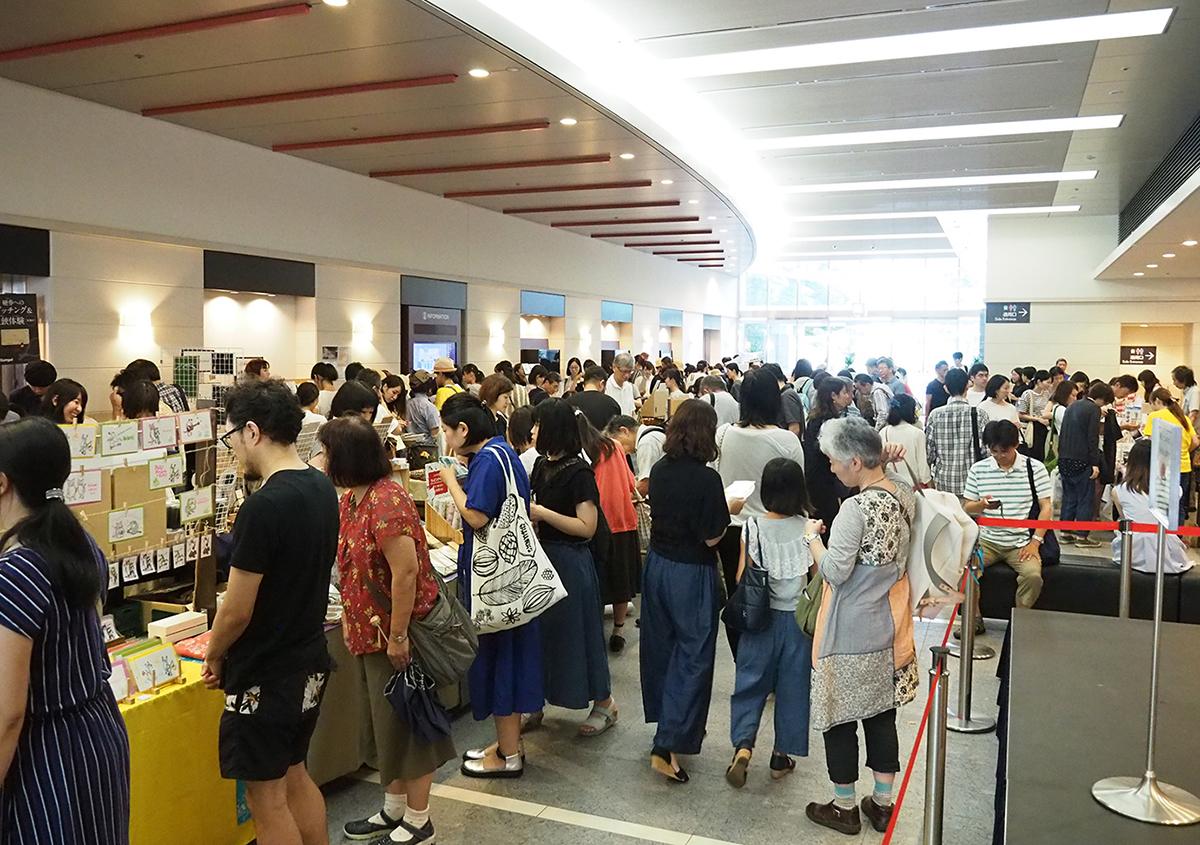 (写真4)マーケット会場様子 | 「 活版TOKYO 2019 」開催