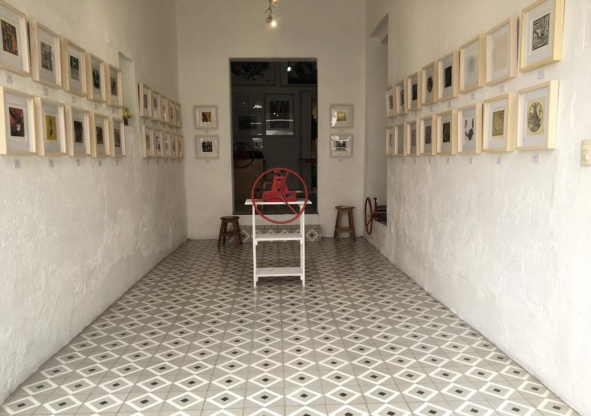 写真2 | ミニプリントオアハカ - アミリョウコ | 活版印刷研究所